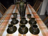 Portmeirion Coffee Set (Totem) by Susan Williams-Ellis.