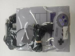Super Nintendo Entertainment System (SNES) Console Package - We Buy/Sell Vintage Video Games - 38683*