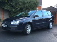 Ford Focus LX estate 2005 1.6 petrol low mileage