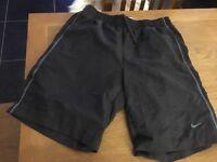 Nike grey shorts - large size