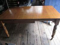 "Victorian extending table, 3' x 3'6"" extending to 3' x 5'"