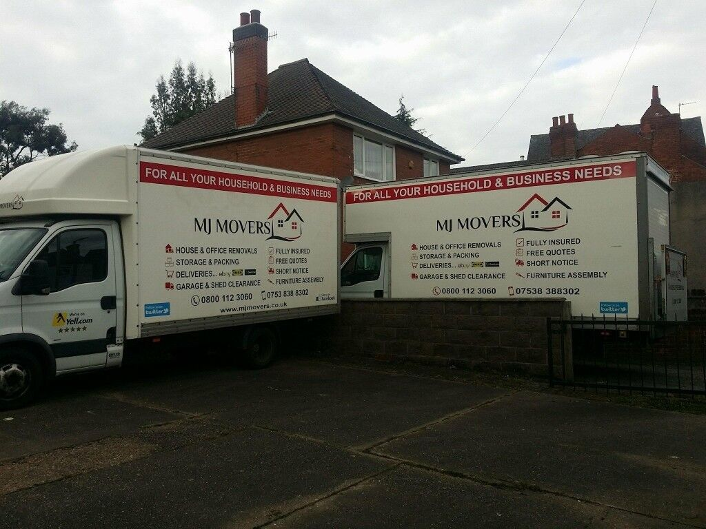 3a1e2937cd Professional house removals Belper   man and van in Belper   single item  delivery   MJ MOVERS Ltd