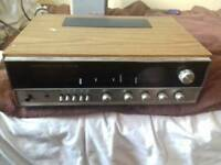 Wharf dale Linton receiver and amp
