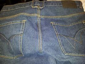 BLUE INC Mens Blue Denim Jeans