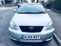 Toyota Corolla 1.6.. 2004 ...MOT April 2019..No Advisory....80k Miles ..Full Serviced...Aux.. £1350