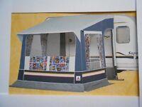 Dorema toronto Porch awning with alloy poles
