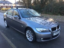 BMW 3 Series 2.0 320D SE 4-door Saloon FSH, 12 Months MOT (I can remove roofbars if required)