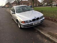 BMW 530 diesel start and drive nice