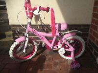 Kid's Bicycle with stabilizer 3-5years old