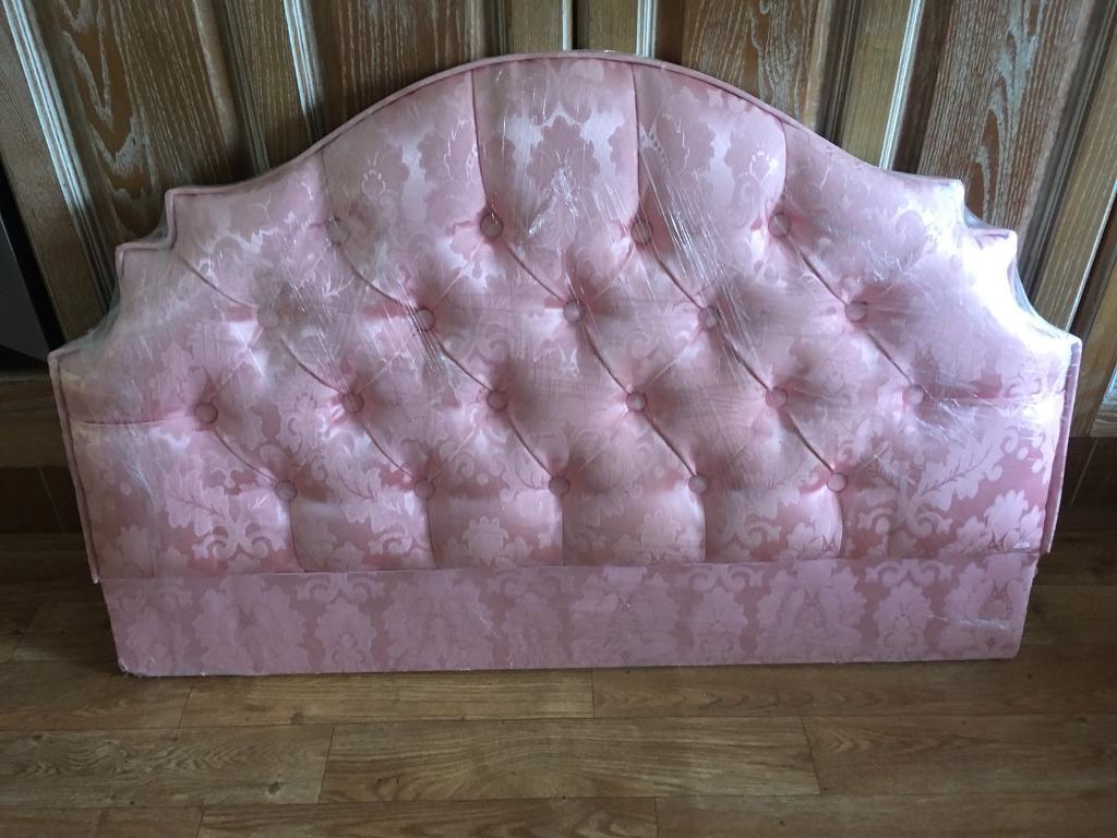 Brand New Pink Single Headboard still in wrapper