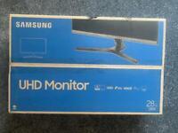 "Brand new 28"" monitor"