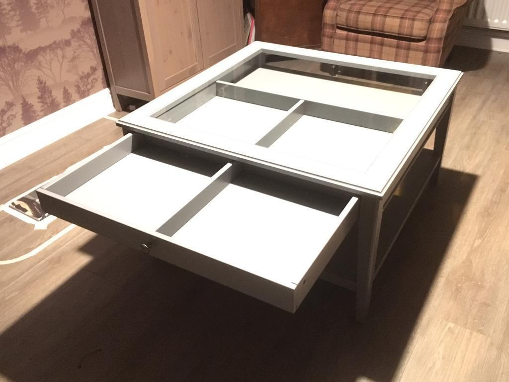 Glass Top Display Coffee Table Ikea In Cambuslang Glasgow Gumtree