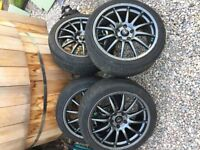 "18"" Team Dynamic Pro Race 1.2 with Tyres - VW/Seat/Audi/Skoda/Mercedes"