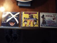Scottish CDs..x3..singles..