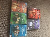The tribe The Complete DVD series 1-5 boxsets