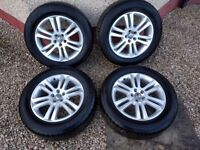 Volvo XC90 Camulus alloy wheel set with winter tyres