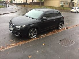 Audi a1 1.6 tdi 63 plate black edition alloys