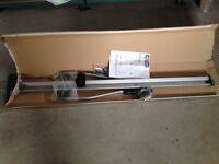 2 x Halfords Deluxe Roof Mounted Aluminium Cycle Carriers - one unused and boxed.