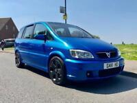 2003 03 Vauxhall Zafira 2.0 GSI turbo arden blue 130k MOT P/Plate !!! Px