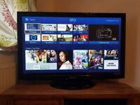"Panasonic 50 inch 50"" Widescreen Full HD 1080P Plasma TV With Freeview - Model TX-P50U10B"