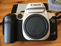 Canon EOS 50e 35mm film camera