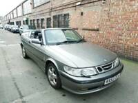 2003 Saab 9-3 2.0 SE Turbo Convertible Soft Top Spares Or Repairs Cabriolet 93 95 Volvo C70 Audi A4 for sale  Leicester, Leicestershire