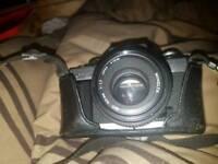 VINTAGE Minolta XG -M SLR film camera with lens 50mm