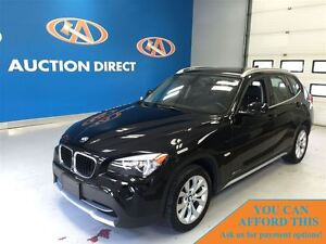2012 BMW X1 28i, LOW kMS, XDRIVE, FINANCE NOW!!