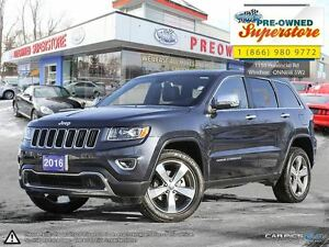 2016 Jeep Grand Cherokee >>Limited, HEATED SEATS, SUNROOF<<