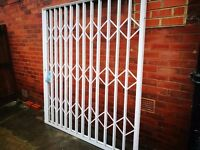 Concertina Security Grill Shutter Gate for Doors - Used