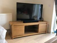 Brand new Oak TV Unit Claremont Harvey's