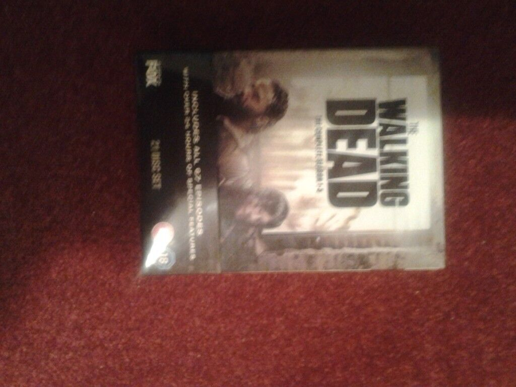 2 x The Walking Dead DVD Collection boxsets for sale.