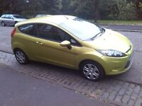 ford fiesta style 80 1.2 2009 09 plate