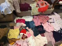 Big bundle of baby girl clothes 3-6 months for sale!!! Must go asap!!!!