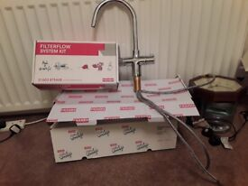 Franke Kettle Tap, brand new, intant boiling water along with hot and cold