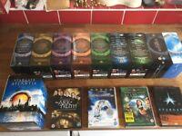 Stargate complete box sets .including Atlantis.