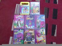 Barney DVD,s x 8
