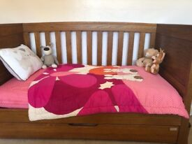 Cot bed and drawers
