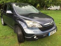 Honda Cr-v 2007, Manual, 2.2 Diesel and service history book plus 12 month M.O.T
