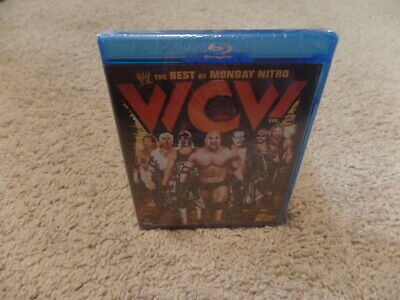 THE BEST OF WCW MONDAY NITRO VOL. 2 wwe BLU-RAY wrestling BRAND NEW (Best Of Monday Nitro)