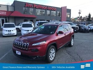 2014 Jeep Cherokee North 4x4 w/roof, heated wheel + more.