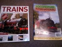 Railway mags sale