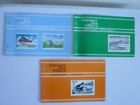 Guernsey Post Office Mint Stamps - Alderney Definitives, Alderney Birds, 50th AnnivAlderney Airport