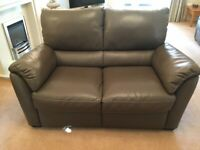 Arighi Bianchi 2 seater leather sofa