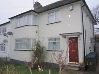 RENT NOW!! 2 - BED Maisonette (own entrance) with front & rear Garden in EDGWARE NW7