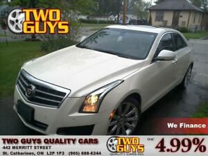 2013 Cadillac ATS 2.0L Turbo Luxury SUNROOF LEATHER