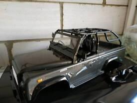Killer Body 1/10 Crawler Marauder Silver-gray All-in Ready to Use (Land Rover Style