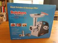 Butchers Sundries Electric Meat Grinder NEW IN BOX