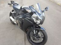Honda fireblade 2008 with only 6000 dry miles, as new