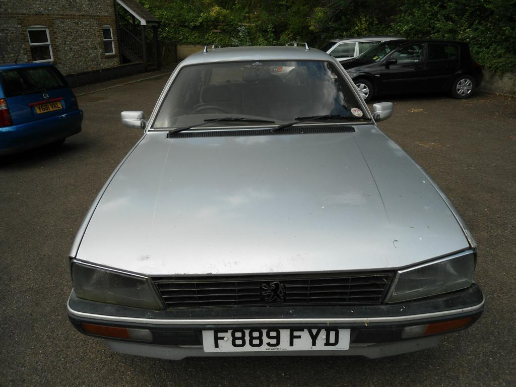 peugeot 505 gti family estate manual in brighton east sussex gumtree. Black Bedroom Furniture Sets. Home Design Ideas